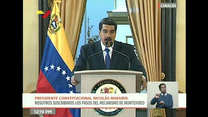 Venezuela : la main tendue de Nicolas Maduro