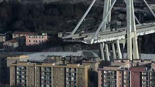 Megkezdték a genovai híd bontását
