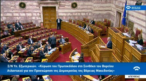 Athen macht Weg frei für NATO-Beitritt von Nordmazedonien