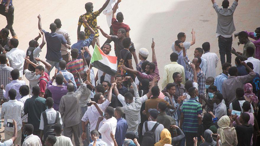 من الاحتجاجات في الخرطوم اليوم