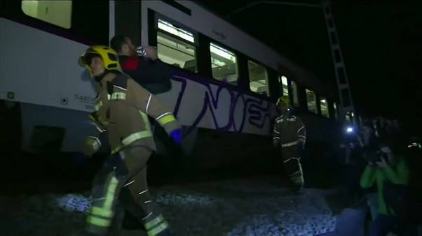 Se investigan las causas del accidente ferroviario en Barcelona