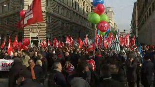 Italien: Hunderttausende fordern andere Wirtschaftspolitik