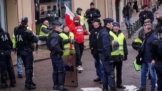 Gilets jaunes : un blessé à Paris