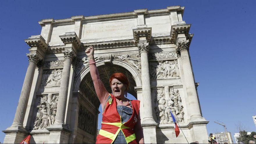 سیزدهمین شنبه اعتراضی جلیقه زردها در پاریس