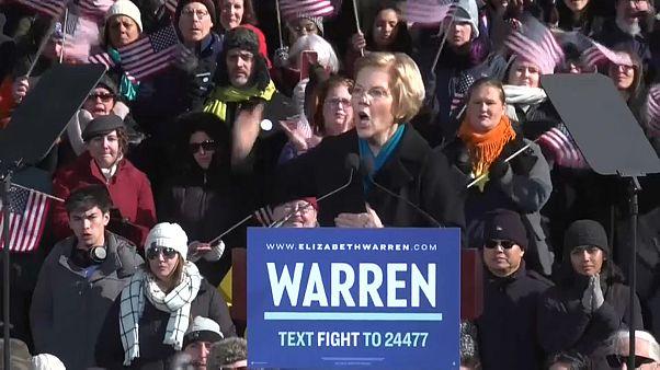 Warren is beszállt a demokraták elnökjelöltségért folyó küzdelmébe