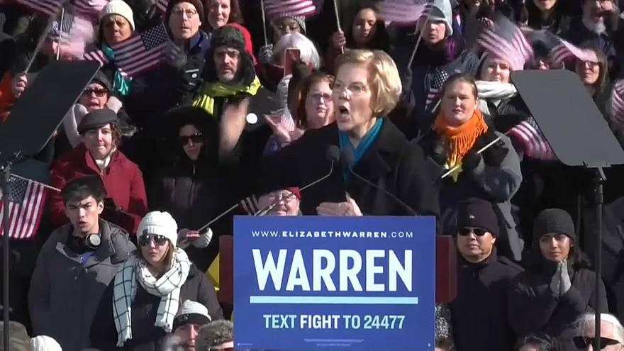 Senator Elizabeth Warren enters 2020 US presidential race