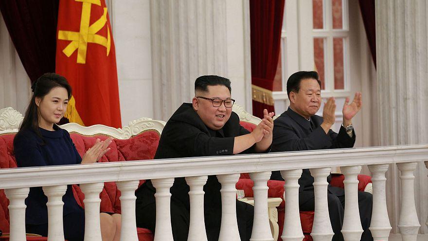 حضور رهبر کره شمالی در جشن ۷۱ سالگی ارتش