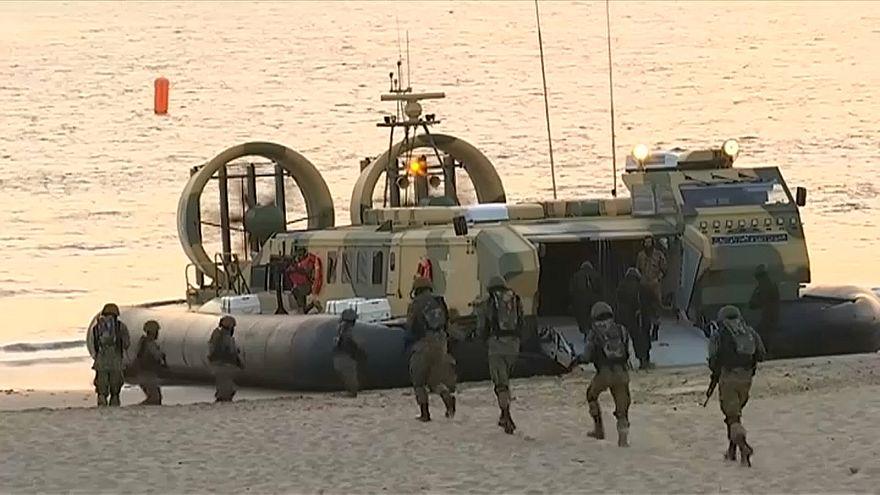 شاهد: تمرين أمان-19 البحري في باكستان بمشاركة 48 دولة لمكافحة التطرف