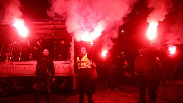 Protestos na Sérvia entram na décima semana