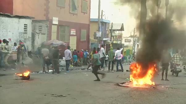 Anti-government protests in Haiti continue for a third day