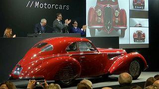 السيارة التي بيعت في المزاد