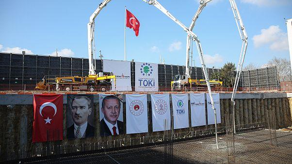 Atatürk Kültür Merkezi temel atma töreni