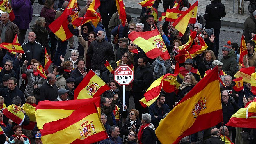 Direita unida contra Sánchez em Madrid