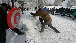 Битва при Такоме: снежный флешмоб