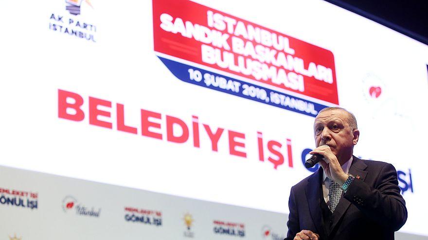 Erdoğan 31 mart yerel seçimler