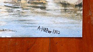 مزاد ألماني يفشل في بيع لوحات رسمها هيتلر والسبب!