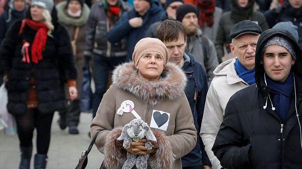Mães indignadas desafiam Putin