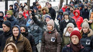"""В российских городах прошли """"Марши материнского гнева"""""""