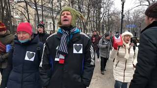"""Mütter """"spazieren"""" in Moskau für Anastasia Schewtschenko"""