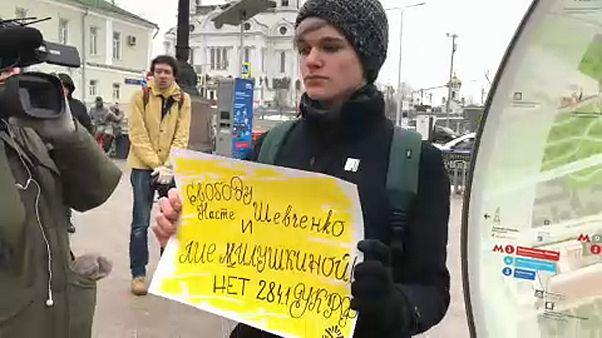 Mosca: la marcia delle madri indignate