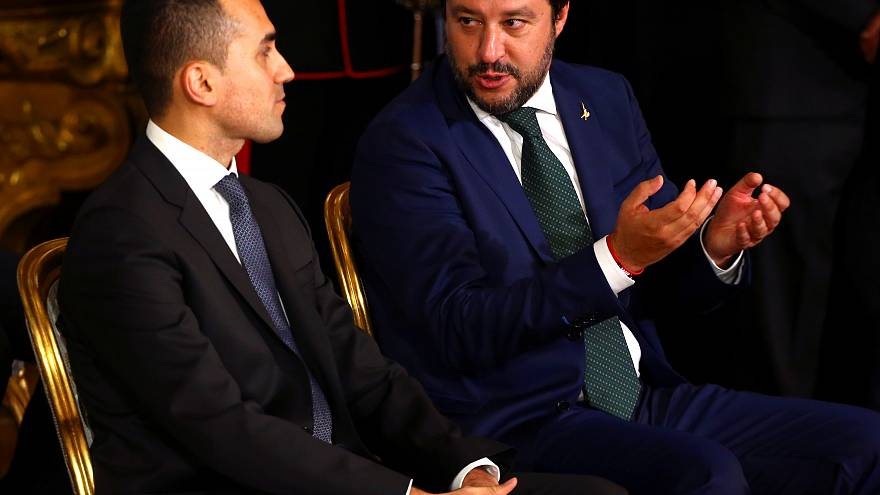 Italy's populist government slams central bank leaders in ahead of Europe elections