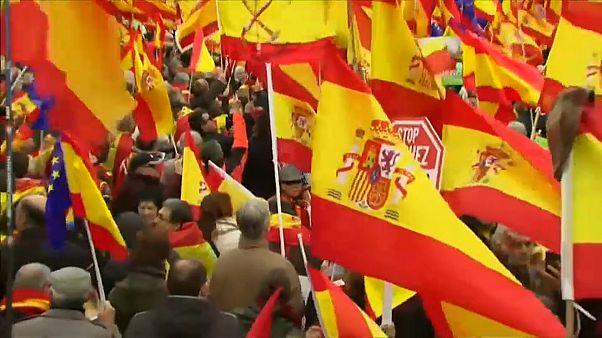 La droite espagnole unie contre le séparatisme