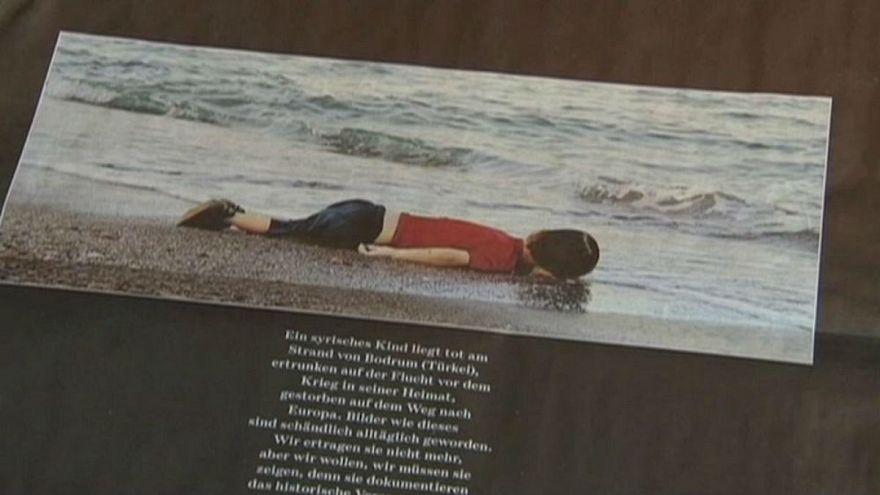 کشتی نجات پناهجویان به اسم کودک خردسال غرق شده در دریای اژه نامگذاری شد