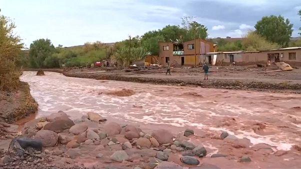 Trágicas inundaciones en el norte de Chile