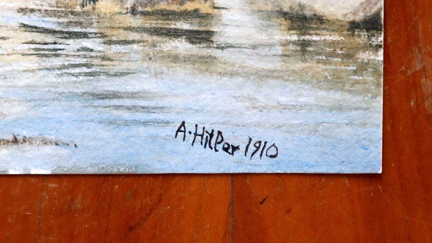 Adolf Hitler'e ait 1910 yılında atılmış bir imza
