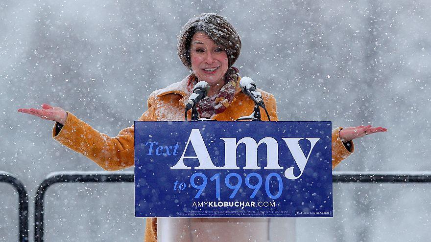 Η Έιμι Κλομπουσάρ υποψήφια για την προεδρία των ΗΠΑ