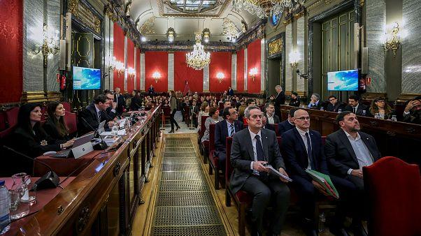 Acusação defende processo contra líderes catalães