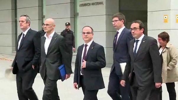 ¿Quiénes son los acusados en el juicio del 'procés'?
