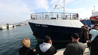 Kurtarma gemisine Alan Kurdi adı verildi