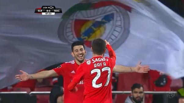 Portugal : le Benfica enfile un 10-0!