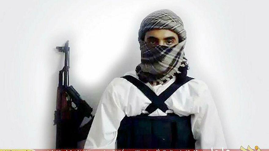 صورة من موقع مؤيد لداعش لانتحاري يعتقد أنه سعودي