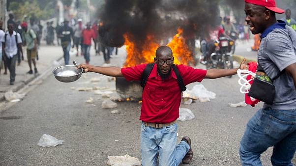 Thousands protest in Haitian capital for fourth day