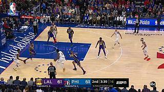 "NBA: ""Лейкерс"" и ""Мэджик"" - победители"
