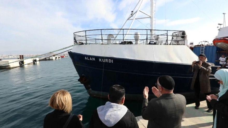 Flüchtlingsschiff nach totem Jungen Alan Kurdi († 3) benannt