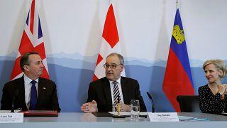 İsviçre ile İngiltere'den Brexit adımı: Taraflar ticaret anlaşması imzaladı
