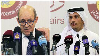 امضای توافق بر سر همکاری استراتژیک میان فرانسه و قطر