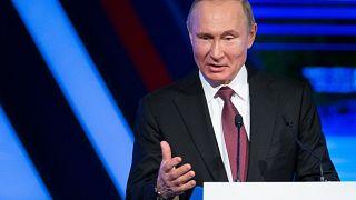 Russian President Vladimir Putin on February 6, 2019.