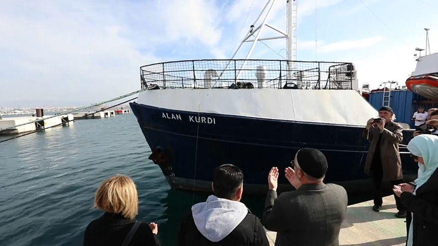Navio renomeado em homenagem a Alan Kurdi
