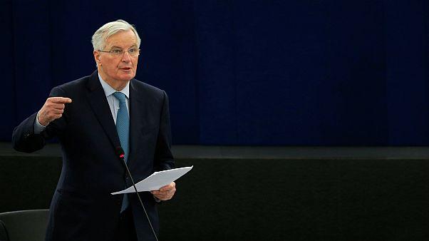 ميشيل بارنييه مفاوض الاتحاد الأوروبي بشأن خروج بريطانيا
