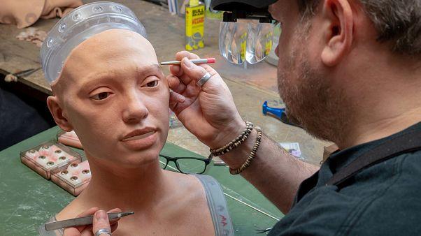 sanatçı robot Ai-da