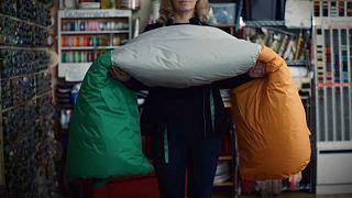 Charity gives Irish flag sleeping bags to homeless veterans