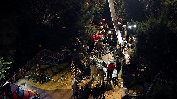 Hubschrauber stürzt auf Wohnviertel  in Istanbul: 4 Tote