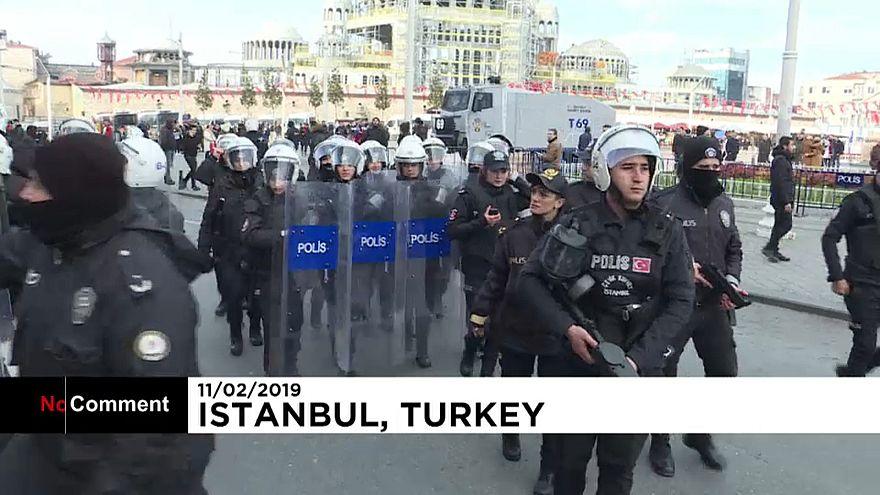 Türkei: Polizei schlägt pro-kurdische Demo nieder
