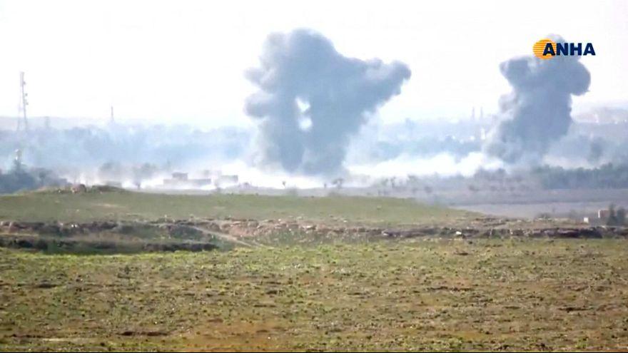 سوریه؛ جان باختن هفت کودک در حمله ائتلاف به مواضع داعش