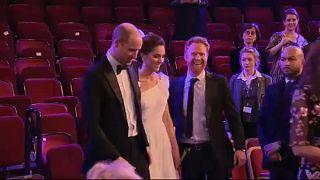 Los duques de Cambridge, protagonistas en los premios BAFTA