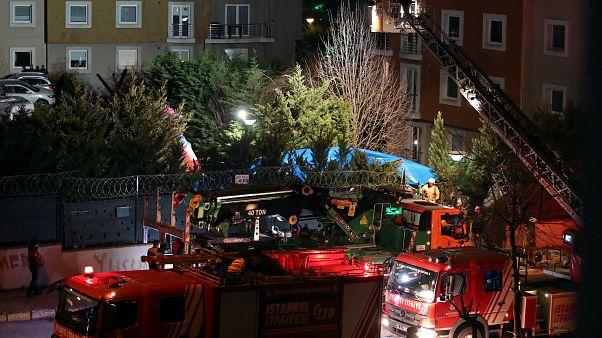 Падение военного вертолёта в Стамбуле: есть жертвы